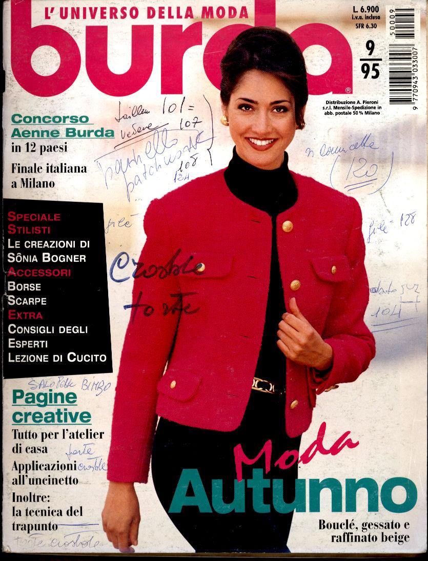 Petites ondes riviste e album di cucito e moda for Burda uncinetto
