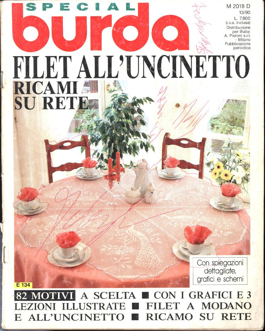 Petites ondes album lavori ricamo uncinetto maglia for Burda uncinetto