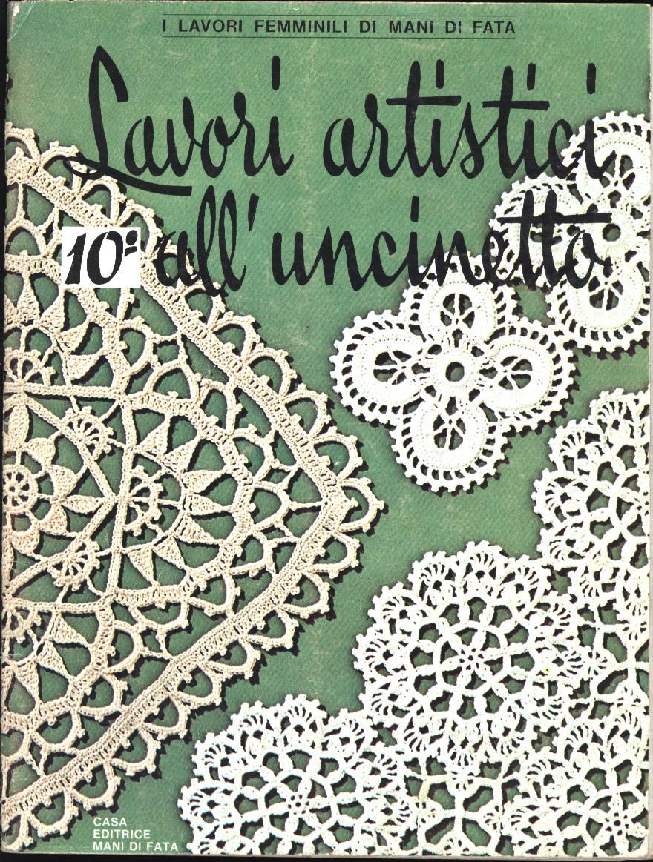 Lavori artistici all 39 uncinetto download for Uncinetto digitale