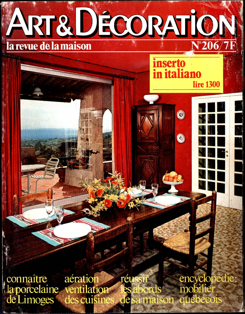 Petites ondes catalogo riviste usate for Art e decoration rivista